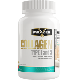 (Maxler) Collagen Type I & III - (90 табл)
