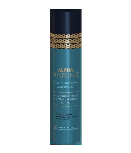 Ocean-шампунь для волос ALPHA MARINE, 1000 мл