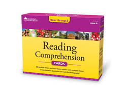 Reading Comprehension Cards - Year Group Two