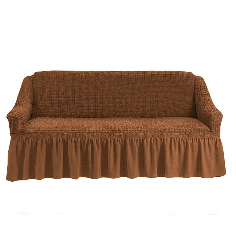 Чехол на диван, Коричневый 210
