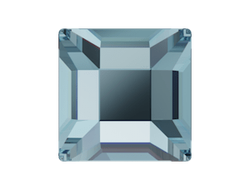 Swarovski Квадраты для маникюра 4 mm AQUAMARINE - 2 шт