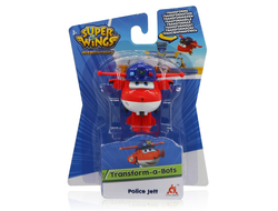 Мини-трансформер Auldey Super Wings Джетт (команда Полиции), EU730031