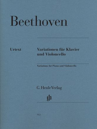 Beethoven Variations for Piano and Violoncello