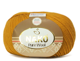 Nako Pure Wool 10429  горчица