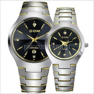 DOM Часы люксовые из вольфрамовой стали и сапфировым стеклом 849dbfc283d08