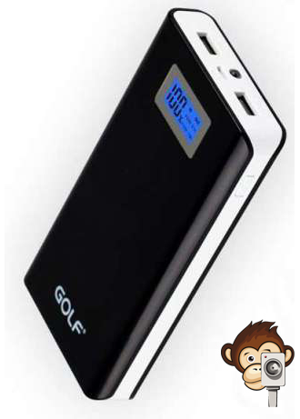 Power Bank GF-LCD06 Golf 15600 mAh-3