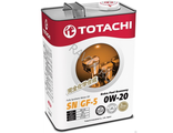 TOTACHI Extra Fuel SN 0W-20 4л