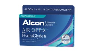 AIR OPTIX PLUS HYDRAGLYDE (3 ЛИНЗ)