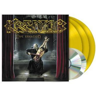 KREATOR Live Kreation 3LP colored + 2CD