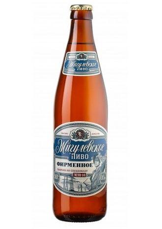 Пиво Жигулевское Фирменное 0,5 л, 1 бут.