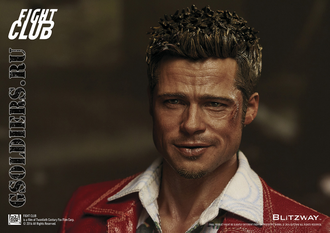 Две фигурки Тайлера + халат  1/6 Fight Club BW-FC00326 Special Pack - BLITZWAY