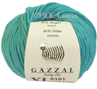 Пряжа GAZZAL BABY COTTON XL 3426
