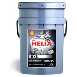 Масло моторное Shell HELIX HX8 Synthetic 5W-30 20л 550040540