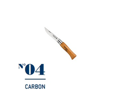 Нож Opinel №04 Carbon
