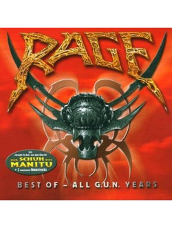 Rage Best Of All G.U.N. Years CD