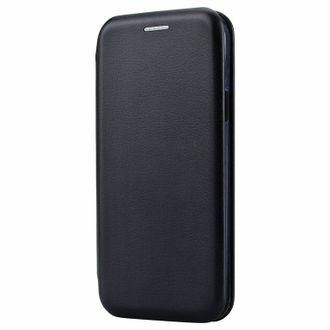 Чехол-книжка для Samsung J6 (2018) Fashion Case (черный).