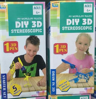 "3D-ручка ""3D DIY Stereoscopic"" - shopbabytoys.ru"