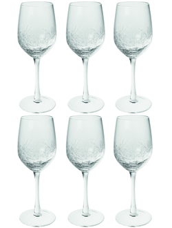 SIA ALBA WINE GLASS S/6 , 384508 ,  H20/D7