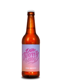 DON'T WORRY BABY PALE ALE СВЕТЛЫЙ ЭЛЬ ДОНТ ВОРРИ БЭБИ 0,5% IBU 30 0,5Л (90) JAWS BREWERY