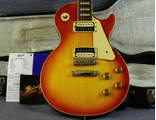 Gibson Les Paul Standard Cherry Sunburst Plain Top Zebra Coils