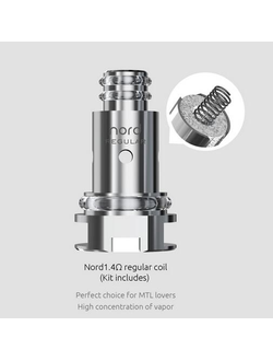 Испаритель SMOK NORD Regular 1.4ohm - цена за упаковку 5шт