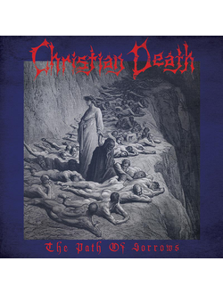 Christian Death - The Path Of Sorrows LP RED