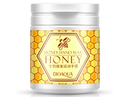 Парафиновая маска для рук с мёдом Bioaqua Honey Hand Wax, BQY2751