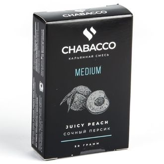 CHABACCO 50Г - JUICY PEACH