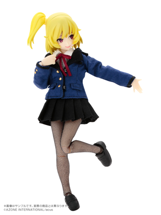 Кукла 1/12 PiccoNeemo Assault Lily Custom Lily Yellow
