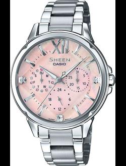 0dc249cab485 Женские наручные часы Casio Sheen. Оригиналы. Выгодные цены – купить ...