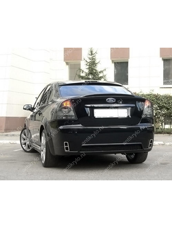 "БАМПЕР ЗАДНИЙ ""CONCEPT"" FORD FOCUS 2 SEDAN (2004-2011)"