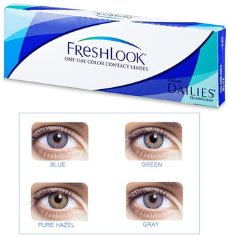 контактные линзы FreshLook 1-DAY Colours