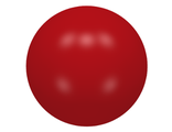 Ball, Hard Plastic 52mm D. Duplo Ball for Ball Tube, Red (41250 / 4156530)