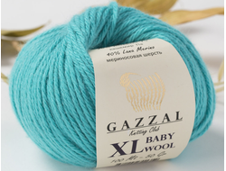 Gazzal Baby Wool XL 832 бирюза