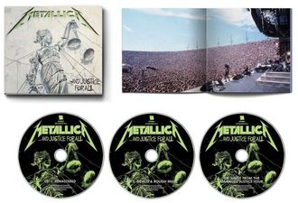 METALLICA - ...and justice for all 3- CD Digi  Remastered 2018