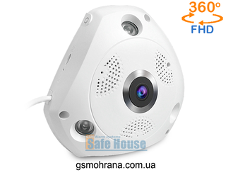 Панорамная WI-FI Smart IP-камера 3D-Panoramic 360° Vstarcam C61S (Photo-01)_gsmohrana.com.ua