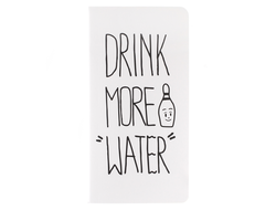 Блокнот DRINK MORE WATER