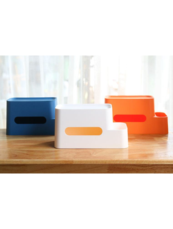 Органайзер Xiaomi Quality storage tissue box оранжевый