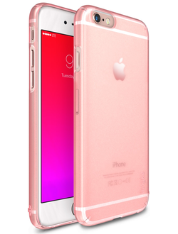 Чехол на Apple iPhone 6S, Ringke серия Slim, цвет розовый (Frost Pink)