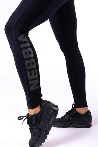 Леггинсы NEBBIA FLASH-MESH LEGGINGS 663 Черные