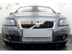 Защита радиатора Volvo C30 2006-2010 chrome PREMIUM