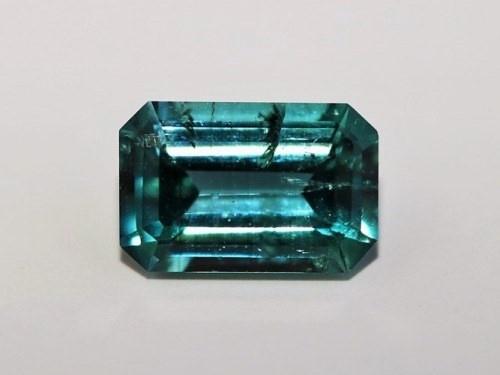 3512a47cf627 Турмалин зелено-голубой, огранка, октагон, Пакистан (7 5 3,5 мм, 1 карат   0,20  г) №8229