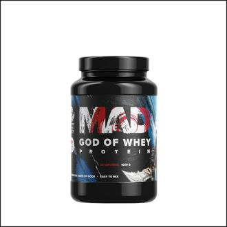 Протеин MAD God of whey protein 1kg