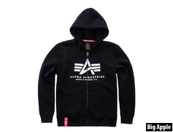 Толстовка Basic ZIP Hoody Alpha Industries