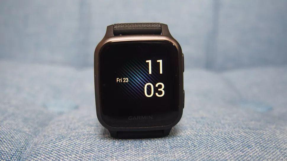 Garmin Venu Sq – недорогие часы для спорта и здоровья