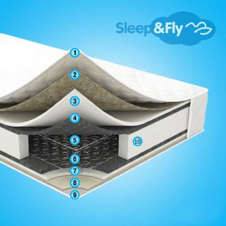 Матрас Sleep&Fly Standart Plus