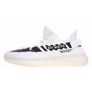 bbe55769e344 Adidas Yeezy Boost x OFF-White белые купить