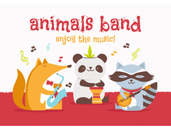 D0399 Animals band
