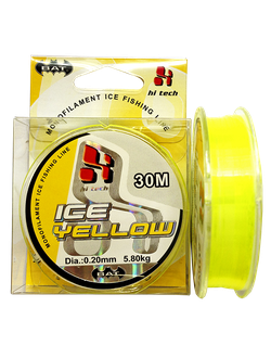 Леска BAT ICE YELLOW 30м (монофил)