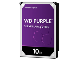 ЖЕСТКИЙ ДИСК HDD 10TB WESTERN DIGITAL PURPLE SATA 6GB/S 5400RPM